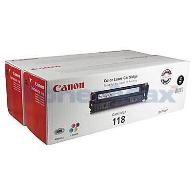CANON 118 TONER BLACK VALUE PACK